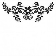Embossing folder juleklokker