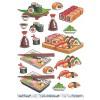 3D ark sushi