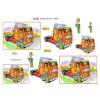 3D ark lastbilchauffør