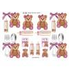 3D ark baby ting med bamser til piger