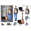 3D ark konfirmation dreng med guitar