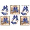 3D ark converse sko blå