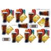 3D ark sodavand og chips