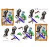 3D ark træramme med sko, mobil og nøglekæde til drenge