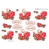 3D ark mors dag med roser og chokolade