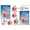 3D ark julenat med julemanden