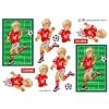 3D ark  Fodbold dreng der dribler
