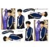 3D ark konfirmation dreng med blå jakke