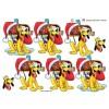 3D ark Pluto og julepostkasse