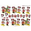 3D ark Mickey & Minnie ved julepejs