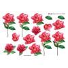 3D ark blomst på stilk