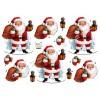 3D ark julemand med sæk