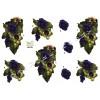 3D ark grønne druer med blomst