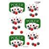 3D ark poker, esser og jetoner
