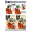 3D ark konfirmation dreng med kasket og hørebøffer