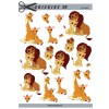 3D ark løver og giraffer