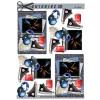 3D ark konfirmation blå høretelefoner, pc og cola
