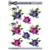 3D ark blomsterhoveder