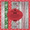 Paper Favourites papirblok Wooden Christmas 24 ark 15 x 15 cm.