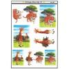 3D ark tiger og giraf
