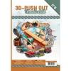 A4 bog 8 udstansede og 8 design ark blandet