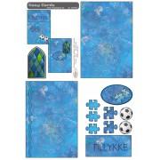 Easy Card fodbold og bobler