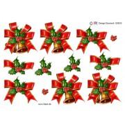 3D ark juleklokke