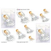 3D ark barnedåb dreng