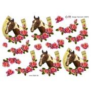 3D ark hest i hestesko