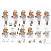 3D ark sygeplejerske