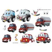 3D ark søde biler