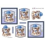 3D ark nuttet drengehund