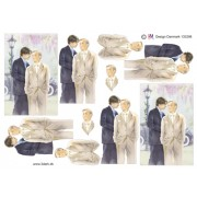 3D ark bryllup mænd