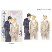 3D ark bryllup mænd A5
