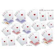 3D ark spillekort