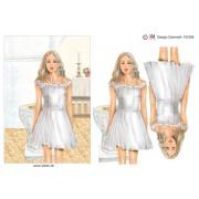 3D ark konfirmation pige ved døbefonden A5