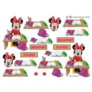 3D ark Minnie skolestart