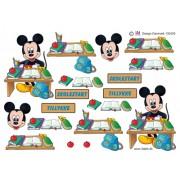 3D ark Mickey skolestart