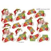 3D ark Julemand med gaver