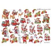 3D ark små julemotiver
