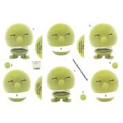 3D ark hoptimist grøn