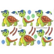 3D ark skildpadde