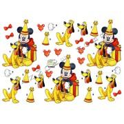 3D ark Mickey og Pluto