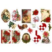 3D ark små julemotiver til kort