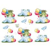 3D ark dinusaurus i æg