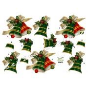 3D ark juleklokker