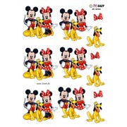 3D ark Mickey, Minnie og Pluto