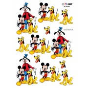 3D ark Mickey, Fedtmule og Pluto
