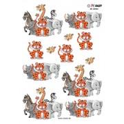 3D ark glade dyr