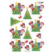3D ark Minnie og julemanden